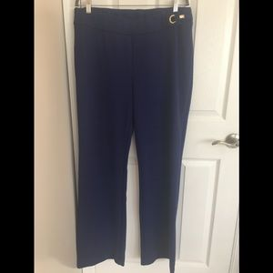 Chico's Textured Trousers